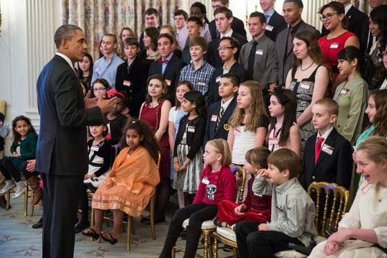 White House seeks kid videos on Obama themes