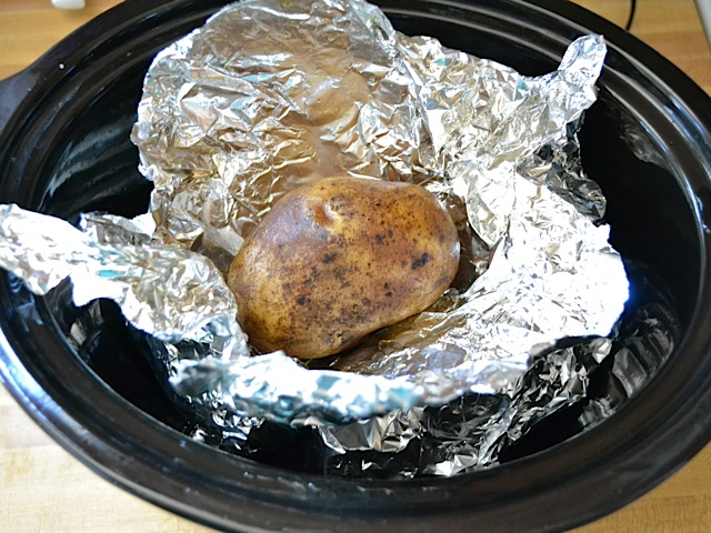 slow cooker potato