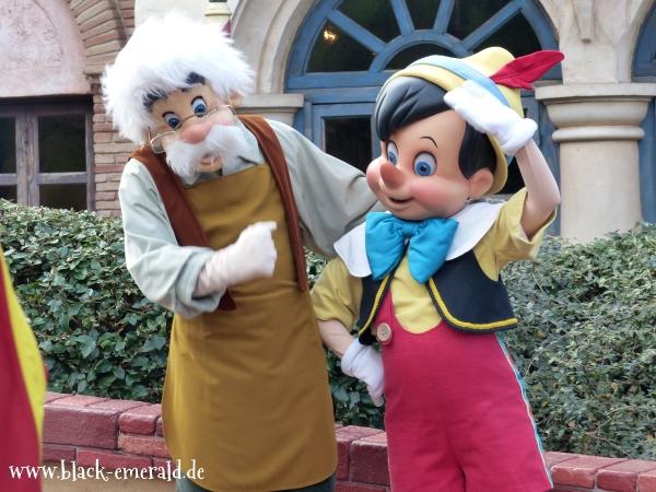 Pinocchio und Geppetto