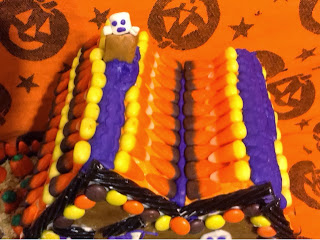 Candy corn roof