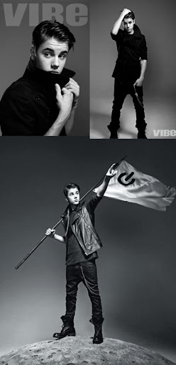 Justin Bieber talks to Vibe Magazine about getting caught up in the fame.