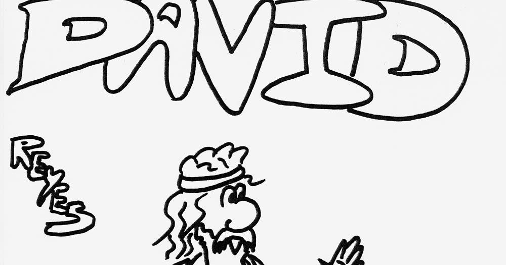 Dibujos Biblicos Para Colorear Del Rey David: Pinto Dibujos: Rey David Para Colorear