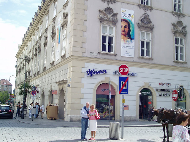 Manner shop, Vienna