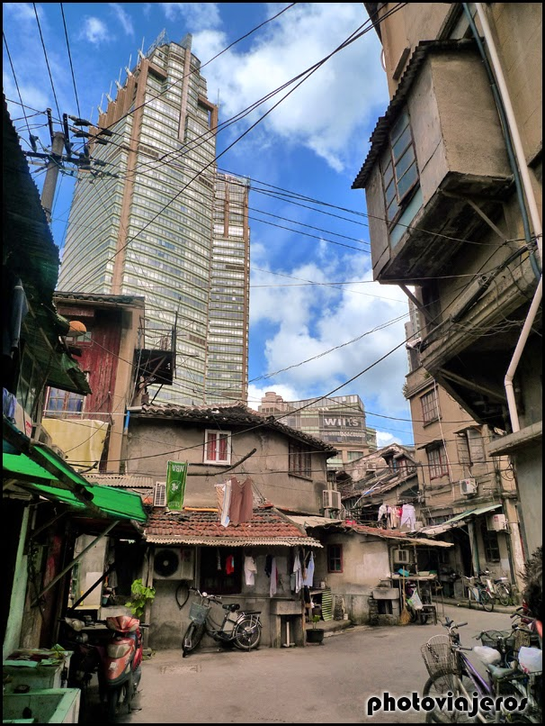 Contrastes de Shanghai