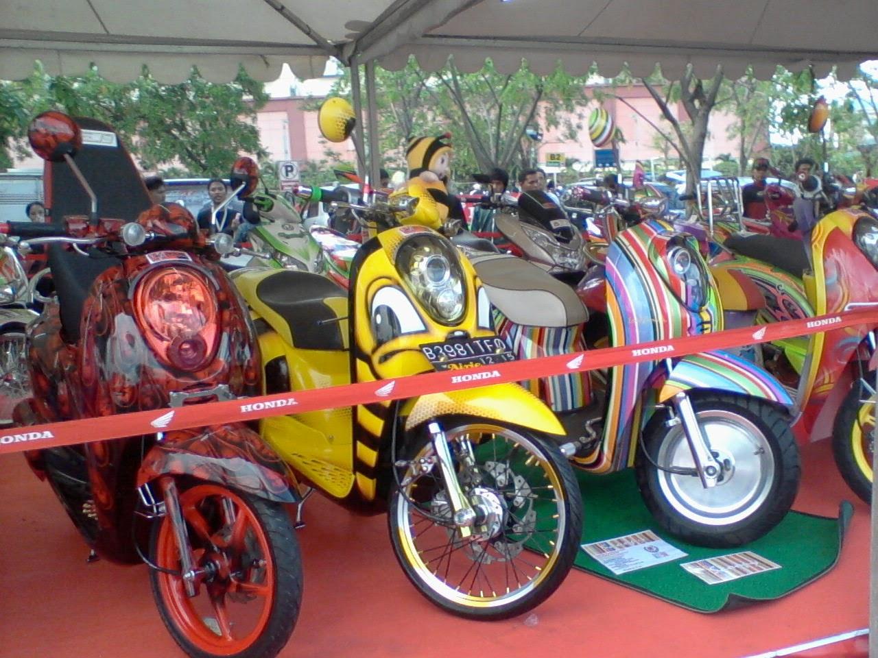 Scoopy Modifikasi Thailand
