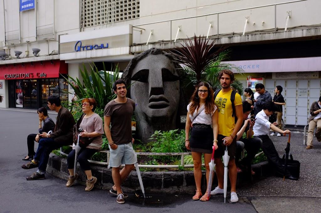 Shibuya Moai