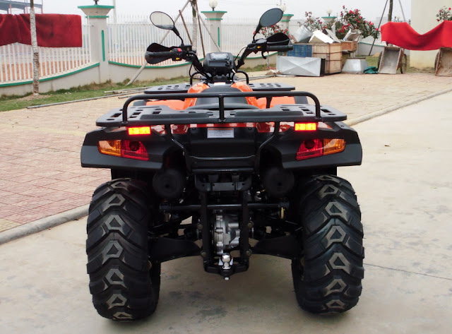 550cc Trident EFI V-twin Farm ATV 4x4 Quad Bike Rear