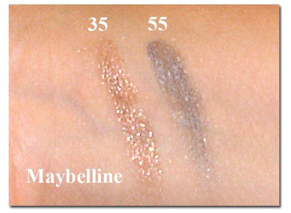 Maybelline Color Tatto 24H - свотчи на руке