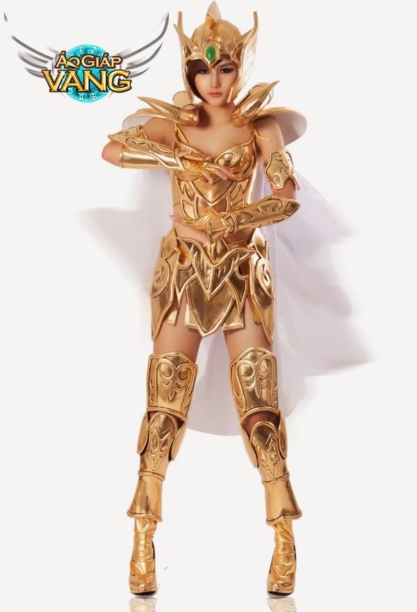 Bộ cosplay cực chất của Áo Giáp Vàng lộ diện 6