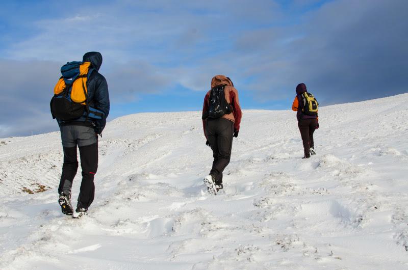 La pas, prin prima zapada a iernii