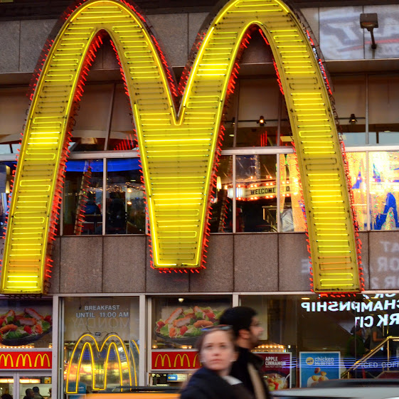 Golden Arches in New York City