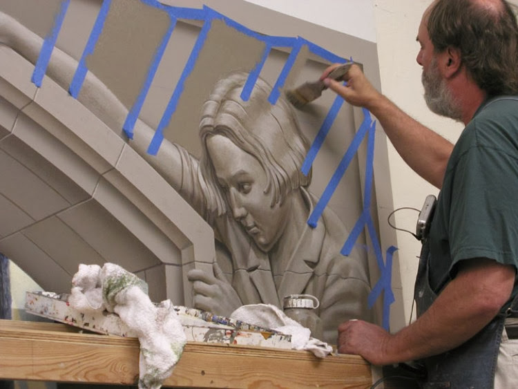 Paths of Promise   Realistic 3D Mural By Eric Grohe