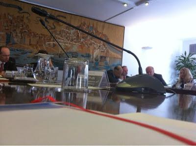 Reunião entre a troika e os parceiros sociais sobre a 12.ª avaliação do memorando de entendimento