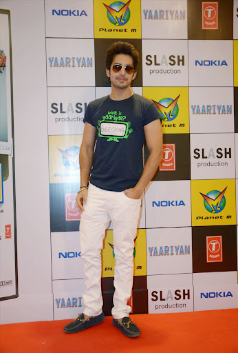 Actor Himansh Kohli during the DVD launch of his ianslatest movie Yaariyan  in Mumbai on Tuesday  Fe2013_1.jpg
