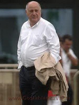 ZARA, Amancio Ortega, Rosalia Mera, Зара, самый богатый человек Испании, миллионер, CostablancaVIP