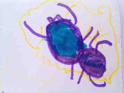 dibujo-infantil-araña