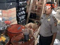 Berita Apa Polisi Sukabumi Gerebek Pabrik Oli Palsu