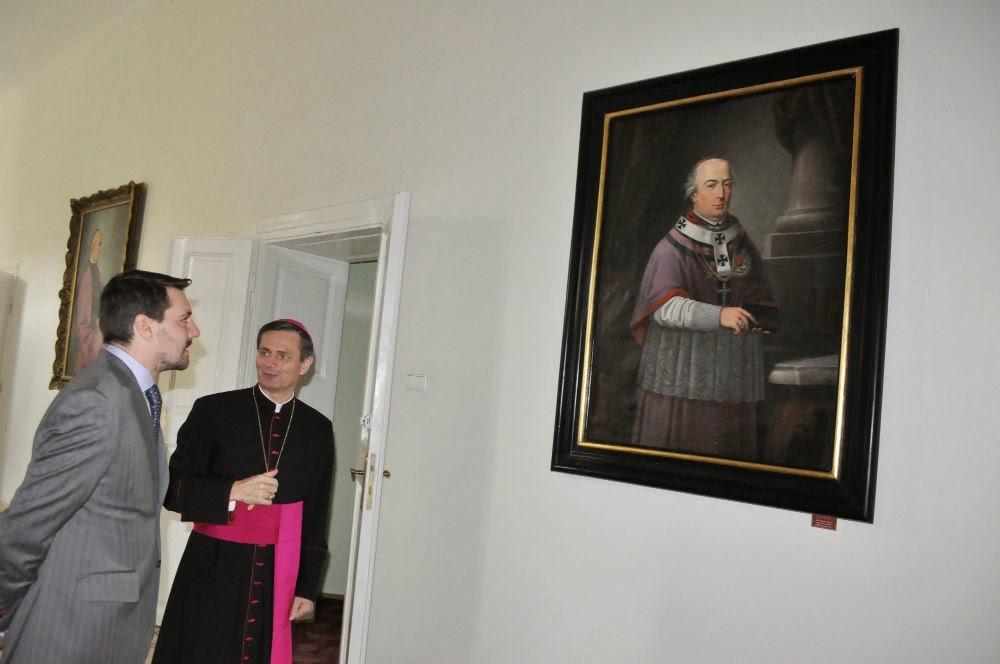 FOTO Principele Nicolae, întrevedere cu reprezentanții Protopopiatului Ortodox și ai Diecezei Romano-Catolice Satu Mare