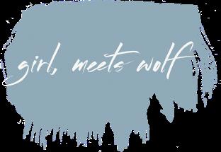 girl, meets wolf