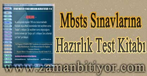 Diyanet Mbsts ve Yeterlilik Sınavlarına Hazırlık Test Kitabı İndir