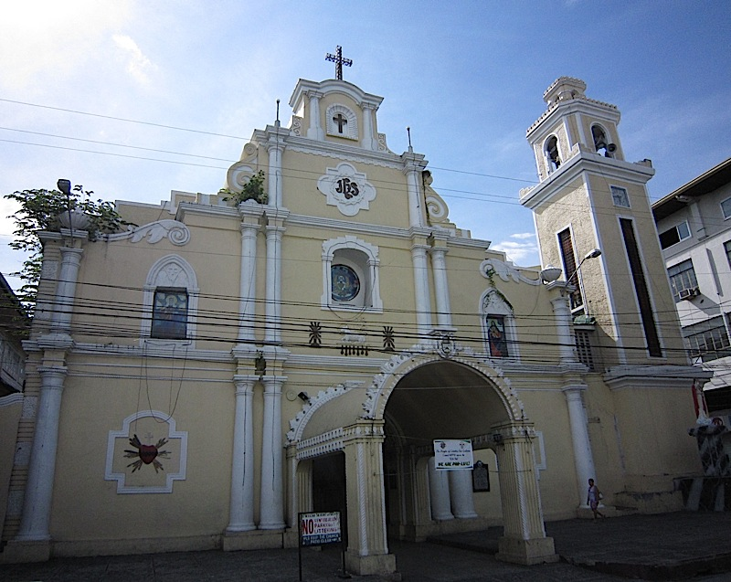 facade of Saint William Cathedral in San Fernando, La Union