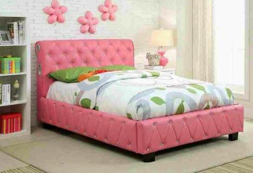 Những mẫu giường ngủ độc đáo cho cô nàng yêu màu hồng-3