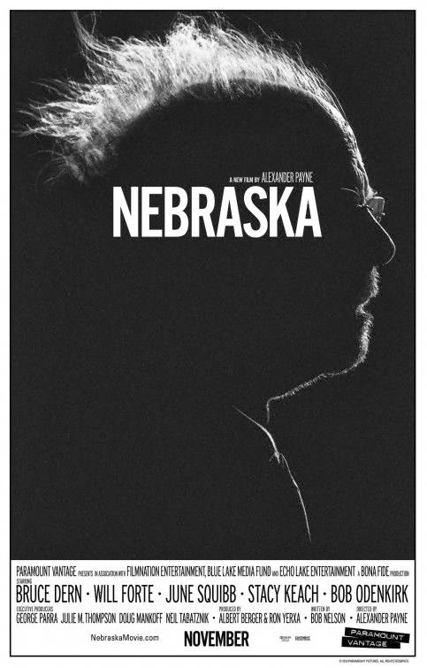 Poster Of English Movie Nebraska (2013) Free Download Full New Hollywood Movie Watch Online At Alldownloads4u.Com