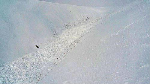 Avalanche Howgills - Photo 1 - © Benson Andy