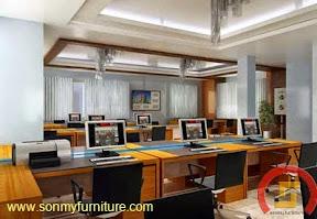 Mẫu thiêt kế nội thất văn phòng SMF724