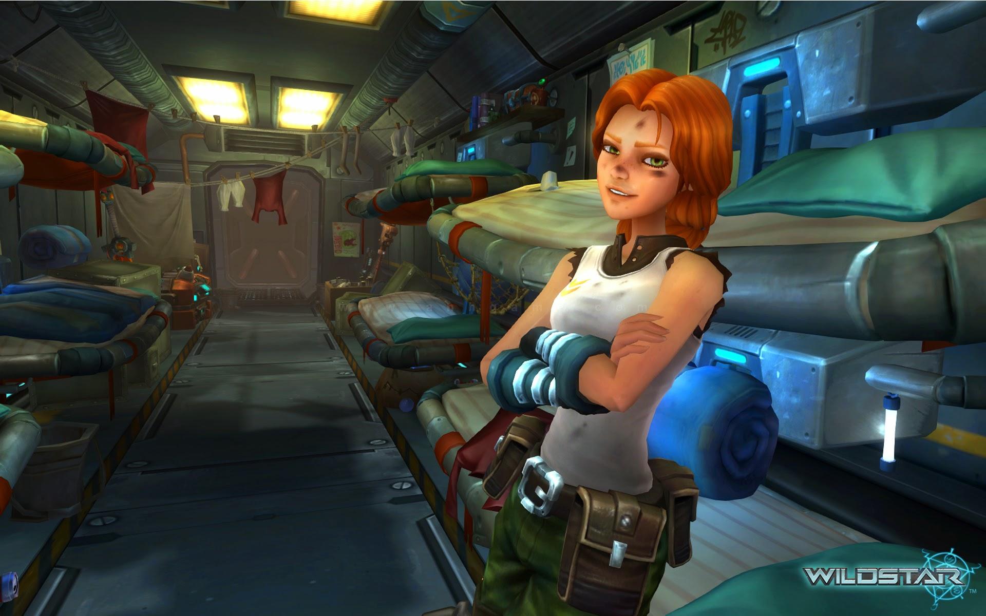 Loạt hình nền đẹp mắt của MMORPG Wild Star - Ảnh 9