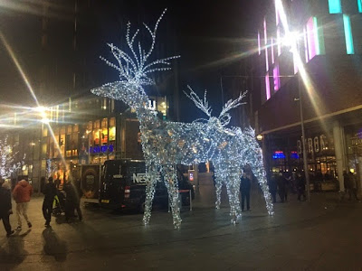 Liverpool - Christmas lights