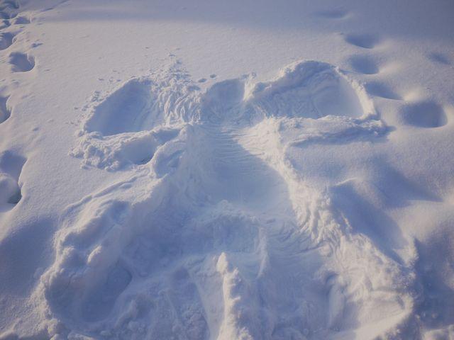 達人帶路-環遊世界-極光小屋-雪天使