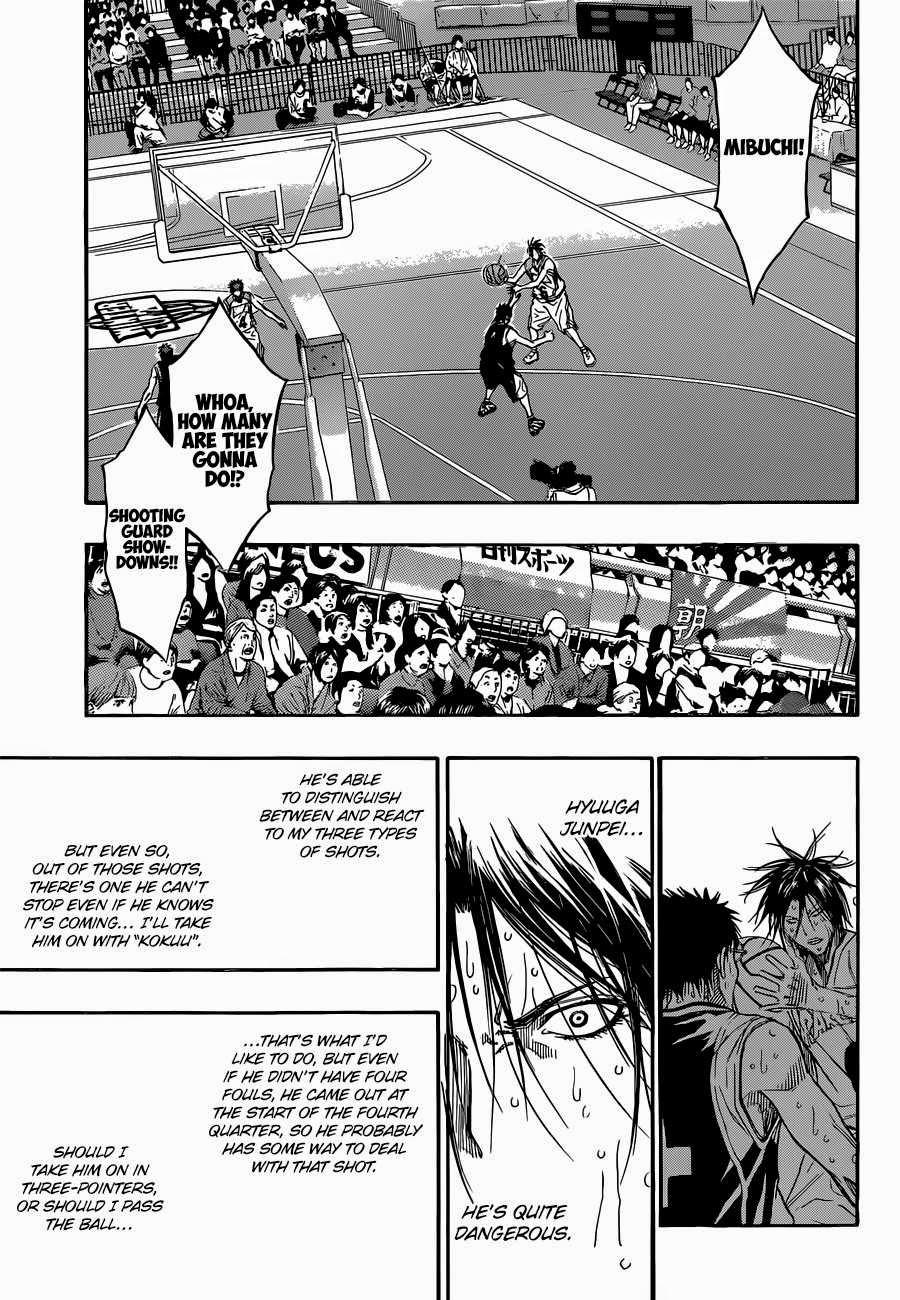 Kuroko no Basket Manga Chapter 259 - Image 08