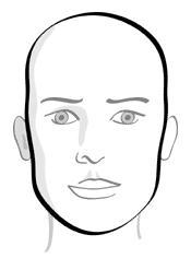 78aa7583c9118 Geralmente a cliente com este tipo de rosto tem pescoço longo e fino. Use  franja ou meia franja na testa ...