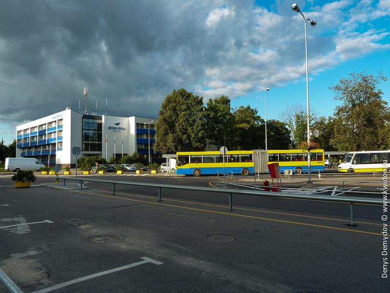 Автобус 3G от аэропорта в Вильнюсе до гостиницы
