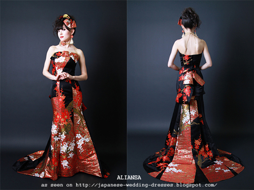 Japanese Wedding Dresses Beyond The Kimono Aliansa S
