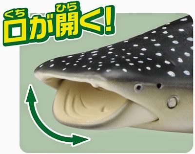 Mô hình Cá mập voi Ania AL-05 Whale Shark cử động được mồm và đuôi