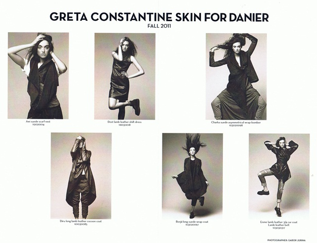 Greta Constantine SKIN for Danier