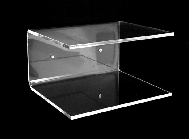 Mensola forma c plexiglass comodino 30x25x15 - Accessori bagno plexiglass amazon ...