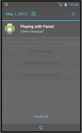 how to get rid of push notifications on android