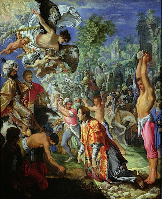 Adam Elsheimer - The Stoning of St Stephen
