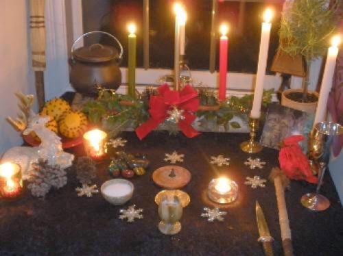 Yule Altar