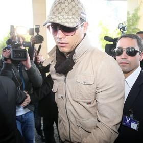 Cristiano Ronaldo arrives to Óbidos to be examinated by the Portuguese doctors