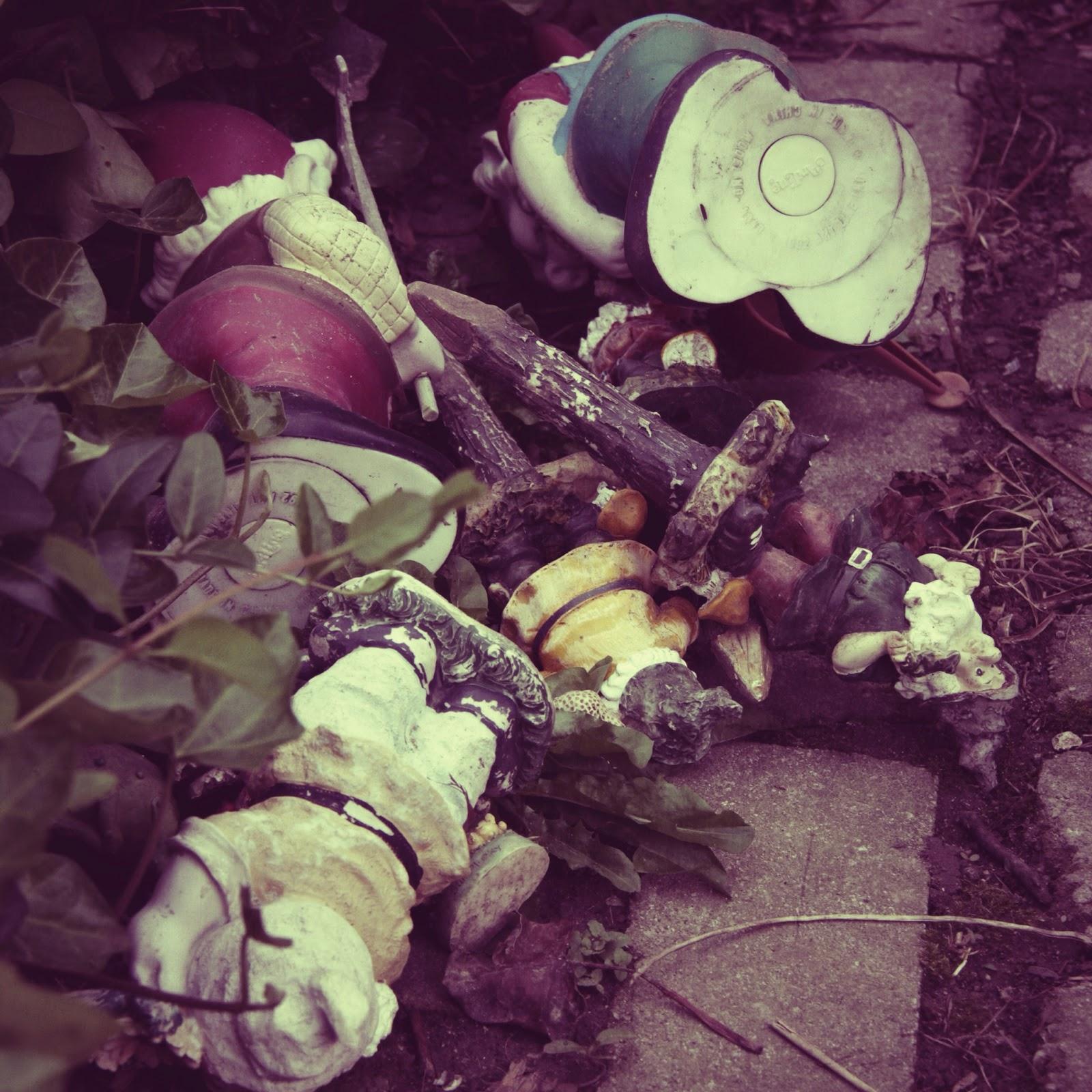 Garden Gnome Graveyard