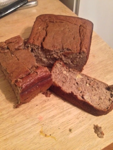 banana, bread, protien, recipe