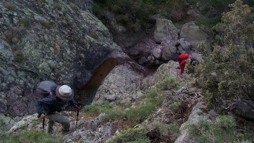 Montée en RD du ruisseau de Bocca a Rossu