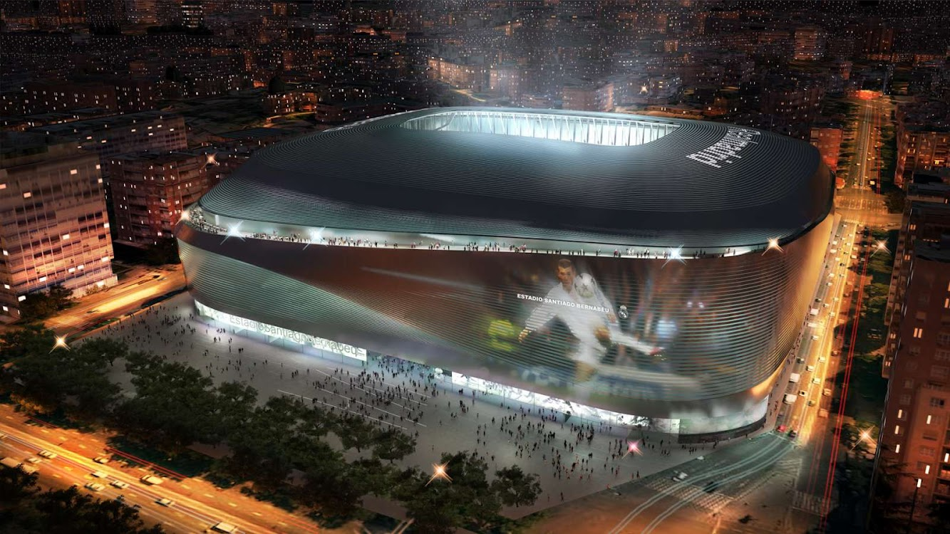 Spain: NEW SANTIAGO BERNABÉU STADIUM