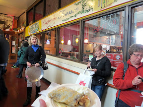 Seattle Bites Food Tour Pike Place Market Crepe de France