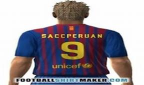 Crea propia camiseta barcelona tu nombre