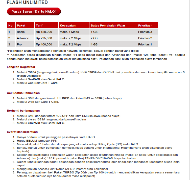 Review Telkomsel Flash Unlimited 2